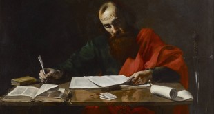 Valentin de Boulogne, Saint Paul Writing His Epistles